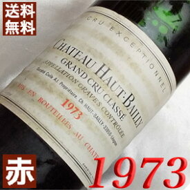 1973年 シャトー・オー・バイィ [1973] 750ml フランス ワイン ボルドー グラーヴ 赤ワイン ミディアムボディ [1973] 昭和48年 お誕生日 結婚式 結婚記念日の プレゼント に誕生年 生まれ年 wine