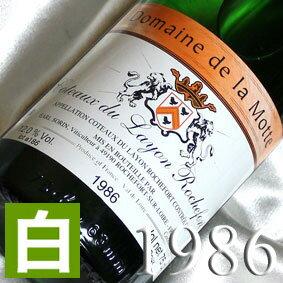 白ワイン・[1986](昭和61年)コトー・デュ・レイヨン ロッシュフォール ドゥー [1986]Coteaux du Layon Rochefort Doux [1986年] フランスワイン/ロワール/白ワイン/甘口/750mlお誕生日・結婚式・結婚記念日のプレゼントに誕生年・生まれ年のワイン!