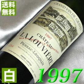 【送料無料】 1997年 白ワイン シャトー・ルーヴィエール・ブラン [1997] 750mlフランス ワイン ボルドー グラーヴ 辛口 [1997] 平成9年 お誕生日 結婚式 結婚記念日の プレゼント に誕生年 生まれ年 wine
