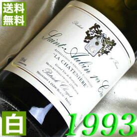 【送料無料】 1993年 白ワイン サン・トーバン シャトニエール ブラン [1993] 750ml フランス ワイン ブルゴーニュ 辛口 パトリック・クレルジェ [1993] 平成5年 お誕生日 結婚式 結婚記念日の プレゼント に誕生年・生まれ年 wine