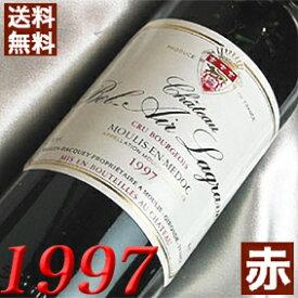 【送料無料】 1997年 シャトー・ベル・エール・ラグラーヴ [1997] 750ml フランス ワイン ボルドー ムーリス 赤ワイン ミディアムボディ [1997] 平成9年 お誕生日 結婚式 結婚記念日 プレゼント 誕生年 生まれ年 wine