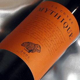 ヴァル・ドルビュ  ラ・キュベ・ミティーク ルージュ Val d'Orbieu La Cuvee Mythique フランスワイン/ラングドック/赤ワイン/ミディアムボディ/750ml 【楽天 通販 販売】