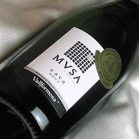 ヴァルフォルモッサ カヴァ・ムッサ ブリュット Vallformosa Cava MVSA Brut スペインワイン/カヴァ/スパークリングワイン/辛口/750ml 【スペインワイン】【泡 発泡】