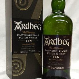 【正規品】 アードベッグ 10年Ardbeg Ten Years Old スコッチウイスキー/シングルモルト/アイラ島 Islay Single Malt Scotch Whisky