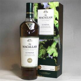 ザ・マッカラン ルミーナ箱付き(並行品)/700ml/オフィシャル The Macallan Lumina スコッチウイスキー/シングルモルト/ハイランド/スペイサイド Highland Single Malt Scotch Whisky
