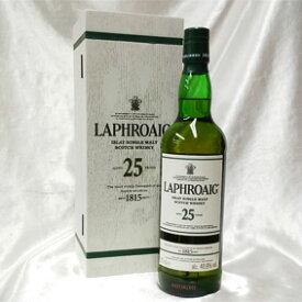 ラフロイグ 25年 カスク・ストレングス 2017 エディション 箱付き(並行品)/700ml/48.9度 Laphroaig Aged 25 Years Cask Strength スコッチウイスキー/シングルモルト/アイラ島 Islay Single Malt Scotch Whisky