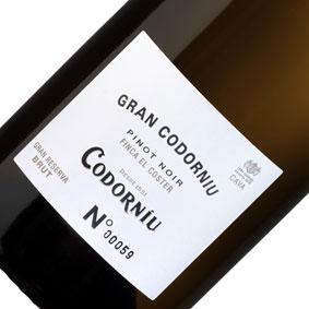 【正規品】グラン・コドーニュ・グラン・レセルバ ピノ・ノアール[2009]Gran Codorniu Gran Reserva [2009年] 泡もの/スパークリングワイン/スペイン/カバ/cava/辛口/750ml/メルシャン【希少品・取り寄せ品】