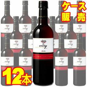 【送料無料】【メルシャン ワイン】 エブリィ ペットボトル 赤 720ml 12本セット・ケース販売 国産ワイン/赤ワイン/ミディアムボディ/中口/720ml×12【ケース売り】