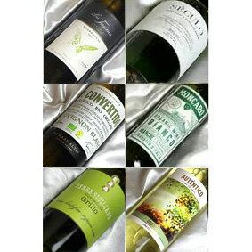 ■送料無料■有機な白ワイン フルボトル品種別飲み比べ6本セットVer.15送料込み 【白ワインセット】【自然派ワイン ビオワイン 有機ワイン 有機栽培ワイン bio オーガニックワインセット】【楽天 通販 販売】