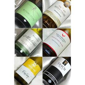 ■送料無料■自然派白ワイン 世界3大品種飲み比べ6本セットVer.5 シャルドネ、ソーヴィニヨン・ブラン、リースリング ビオロジックワインも入っています!【自然派ワイン ビオワイン 有機ワイン bio オーガニックワインセット】