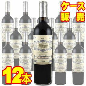 【送料無料】 テラノブレ カルメネーレ グラン レセルバ 12本セット・ケース販売 Terra Noble Carmenere Gran Reserva チリ/チリワイン/赤ワイン/重口/750ml×12【ケース売り】