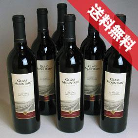 【送料無料】マーカム・ヴィンヤーズ グラスマウンテン カベルネ 6本セットMarkham Vineyards Glass Mountain Cabernet Sauvignon アメリカワイン/カリフォルニアワイン/赤ワイン/フルボディ/750ml×6