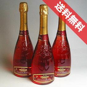 【送料無料】ジャン・ルイ・バララン ミラディー クレマン ド・ボルドー ロゼ 3本セットJean Louis Ballarin Cremant de Bordeaux Rose フランス/ボルドーワイン/スパークリングワイン/辛口/750ml×3 【泡 発泡】