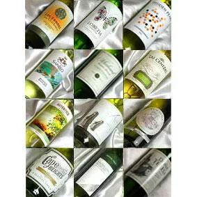 ■□送料無料□■自然派4本入り 白ワインばかり12本セットフランス、イタリア、スペイン、ニューワールドを飲み比べ ギフトセット・贈り物にも、デイリーにも【白 12本セット】【白ワインセット】