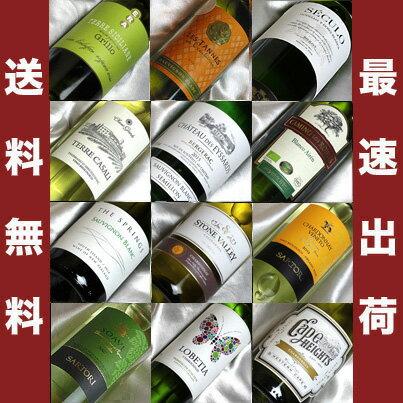 ■□送料無料□■ 自然派白ワイン イロイロな品種を楽しむ飲み比べ12本セット ビオロジックワインもたくさん入っています!【白ワインセット】【自然派ワイン ビオワイン 有機ワイン bio オーガニックワインセット】