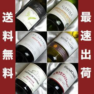 ■送料無料■自然派ワイン ピノ ノワール&シャルドネ飲み比べ6本セットVer.5 ビオロジックワインも入っています!【自然派ワイン ビオワイン 有機ワイン bio オーガニックワインセット】