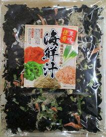 [肘折に花を!] まとめ売り3個1100円!手軽にポン!海鮮汁の具 70g