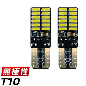 ホンダ N-BOX H29.8〜# JF3.4 Custom ナンバー灯 [T10] LED化 チップ24枚 ノイズ防止 デコードキャンバス付 無極性 「2個セット」 ゆうパケット送料無料 1年保証