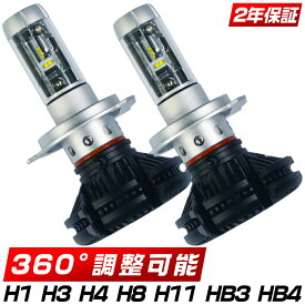 SDL LEDヘッドライト LEDフォグランプ LEDバルブ 2019進化版 12000LM H4 Hi/Lo H1 H3 H8 H11 HB3 HB4 車検対応 65k/3k/8k 変色可能 「2個入り」 2年保証 送料無料