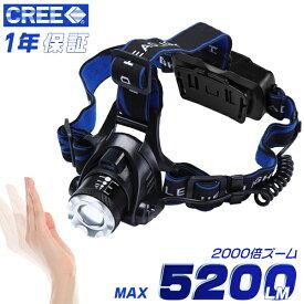 改良版 ヘッドライト 充電式ヘッドライト センサー点灯 電池内臓 ヘッドランプ LED 釣り 登山 アウトドア CREE 防水 作業灯 1個 送料無料 HIKARI