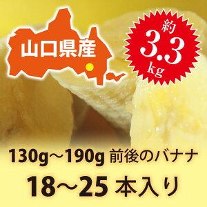 【皮ごと 国産バナナ】ひかりバナナ食べごろ見極め約3.3kgセット