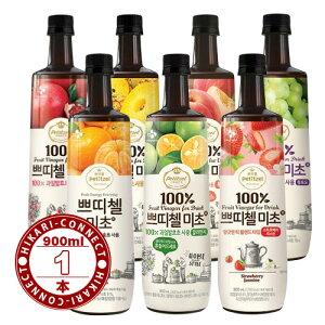 900ml x 1本【CJ】選べる 美酢 (ミチョ) 「ザクロ、パインアップル、モモ、イチゴ&ジャスミン、マスカット、カラマンシー、甘みかん」