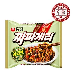 【農心】チャパゲティ ★ 137g x 10袋 ★