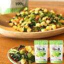 【送料無料】ひかり味噌 乾燥野菜ミックス190g×2袋 <5種のスープの具>畑の具ドライ野菜 カット野菜 保存食 キャベ…