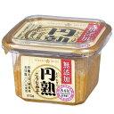 無添加 円熟こうじみそ375g【1箱・8個入】有機大豆・国産米・天日塩使用/ひかり味噌
