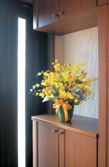 光触媒光の楽園ゴールドストライク【アートフラワー造花】