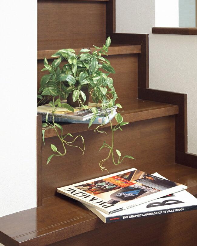 <完売しました>光触媒 光の楽園 ハンギングトラディスカンティア 【壁掛け 人工観葉植物 造花 フェイクグリーン】