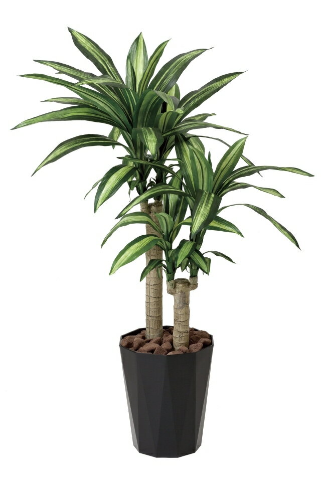 光触媒 人工観葉植物 光の楽園幸福の木 高さ1.1m 【インテリアグリーン ドラセナ】