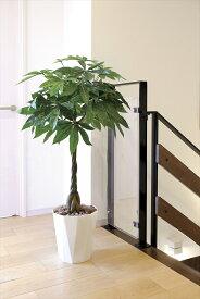 光触媒 観葉植物光の楽園 パキラ 高さ1.25m【インテリア フェイクグリーン 人工観葉植物】
