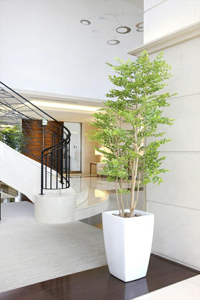 光触媒 人工観葉植物光の楽園 アーバンゴールデンリーフ1.8mインテリア フェイクグリーン