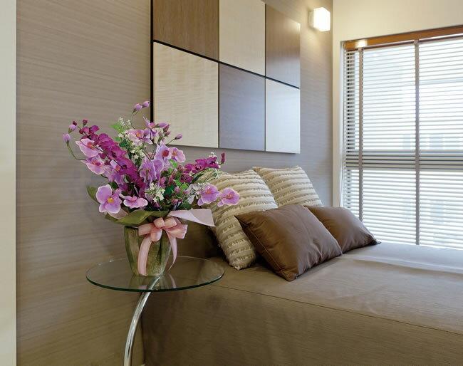 光触媒 胡蝶蘭光の楽園 ツインコチョウラン造花 アレンジフラワー