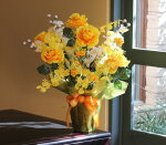 【送料無料】光触媒光の楽園ギフトハッピーローズ【アートフラワー造花】