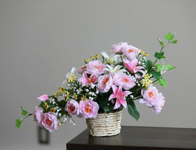 光触媒 光の楽園 メルヘン【アートフラワー 造花 観葉植物】