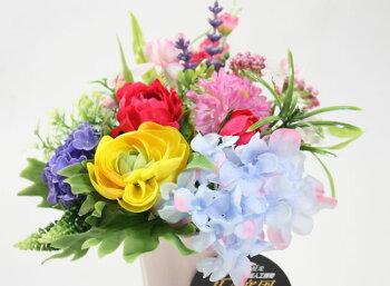光触媒造花光の楽園ビタミンローズ【アートフラワーアレンジフラワー造花】