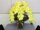 光触媒 造花光の楽園 招福 胡蝶蘭 イエロー5本立ち