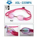【水泳ゴーグル】【AGL-220MPA-RLV】ARENA(アリーナ)ノンクッションスイミングトレーニング用ゴーグル TOUGH STREAM(…