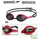 ●●【SD93G23A-KR】SPEEDO(スピード) スイミングゴーグル MERIT・メリット(クリアタイプ)