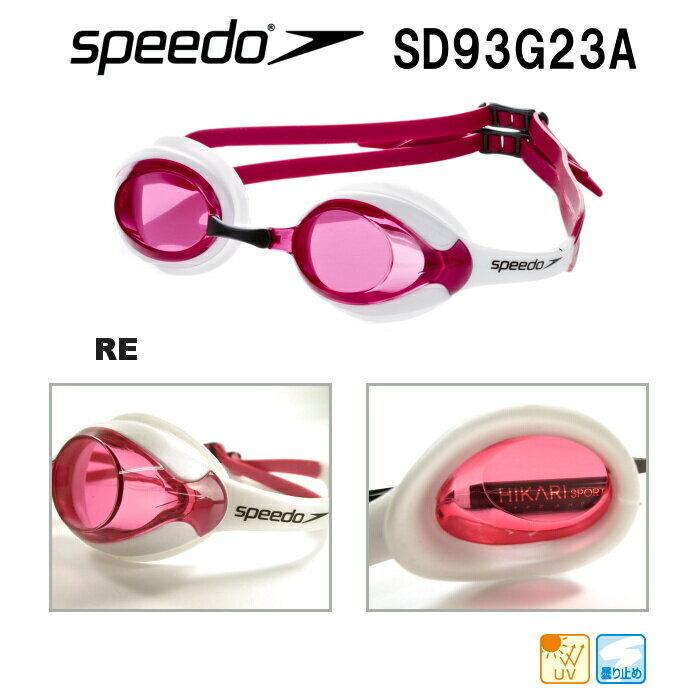SPEEDO スピード スイミングゴーグル MERIT・メリット クリアタイプ SD93G23A-RE-HK