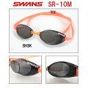 【水泳ゴーグル】SWANS スワンズ ノンクッションスイムゴーグル スナイパー(ミラータイプ) SR-10M-BKBK-HK