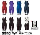 arena アリーナ 競泳水着 レディース スイムウェア スイミング ハーフスパッツ クロスバック fina承認 X-PYTHON2 ARN-7020W