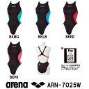 arena アリーナ 競泳水着 レディース スイムウェア スイミング リミック クロスバック fina承認 X-PYTHON2 ARN-7025W