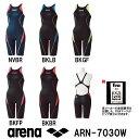 arena アリーナ 競泳水着 レディース fina承認 スイムウェア スイミング ハーフスパッツ クロスバック X-PYTHON2 ARN-7030W
