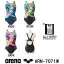 【ARN-7071W】ARENA(アリーナ) レディース競泳水着 NUX-FD セイフリーバック)[競泳水着/女性用/ワンピース/背開きタイプ/FINA承認]