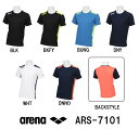 【ARS-7101】ARENA(アリーナ) ポイントメッシュ Tシャツ[スイミング/水泳/アパレル/トレーニングウェア/メンズ/レディ…