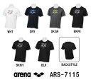【ARS-7115】ARENA(アリーナ) バックメッシュ Tシャツ[スイミング/水泳/アパレル/トレーニングウェア/メンズ/レディー…