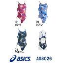 【AS8026】asics(アシックス) レディース競泳練習水着REPEATEX2 POWER SUITS マイティカット[競泳/練習用/長持ち/女性用/ワンピース]
